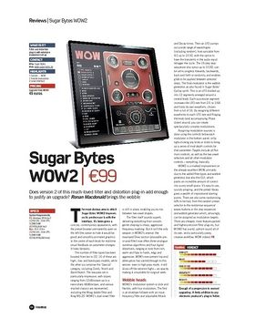Sugar Bytes WOW2