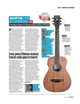 Martin LX1E Ed Sheeran