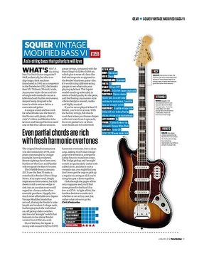 Squier Vintage Modified Bass VI