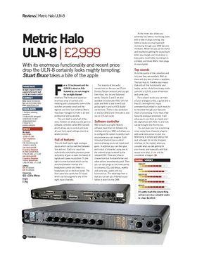 Metric Halo ULN-8