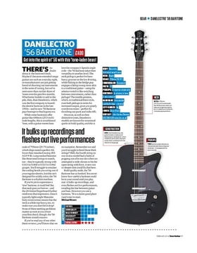 Danelectro '56 Baritone