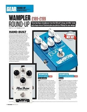Wampler Sovereign Distortion