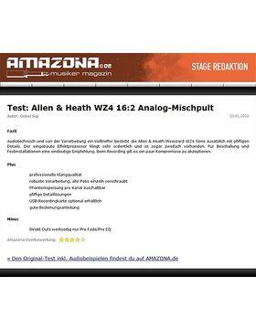 """Test: Allen & Heath Mixwizard WZ4 12:2, 19""""-Mischpult"""