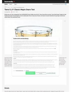 """Tama 14"""" x 5,5"""",  S.L.P. LMP1455ATM Classic Maple Snare"""
