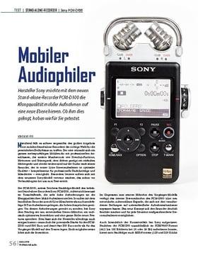Mobiler Audiophiler