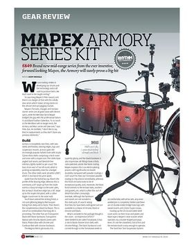 Mapex Armory Series Kit