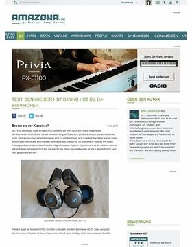 Test: Sennheiser HD7 DJ und HD8 DJ, DJ-Kopfhörer