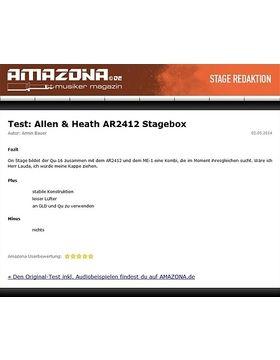 Special: Allen&Heath Qu-16, AR2412, ME-1, Digital Mixer
