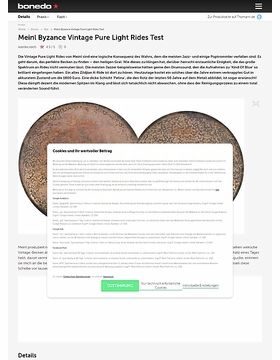 Meinl Byzance Vintage Pure Light Rides Test
