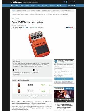 Boss DS-1X Distortion