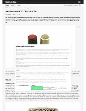 Heil Sound PR 30 / PR 30 B
