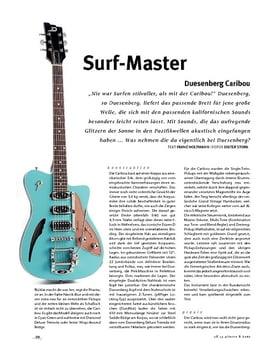 Duesenberg Caribou, E-Gitarre