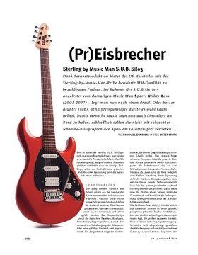 Sterling by Music Man S.U.B. Silo3, E-Gitarre