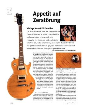 Vintage V100 AFD Paradise, E-Gitarre