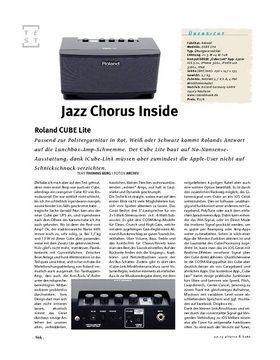 Roland CUBE Lite, Desktop-Amp