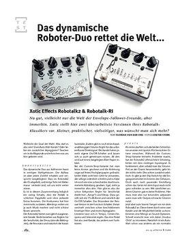 Xotic Effects Robotalk2 & Robotalk-RI, FX-Pedale