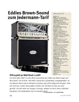 EVH 5150III 50 Watt Head + 112ST, Kompakt-Stack