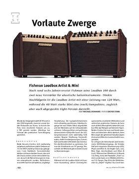 Fishman Loudbox Artist + Mini, Acoustic-Amps