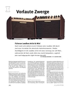Fishman Loudbox Artist + Mini, Acoustic-Amps