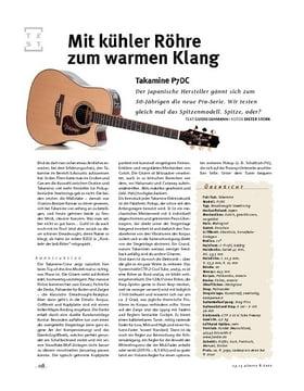 Takamine  P7DC, A-Gitarre