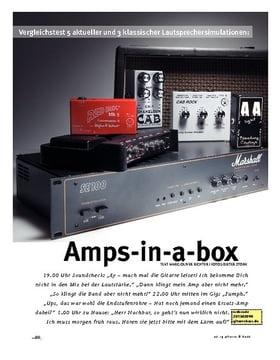 Lautsprechersimulationen im Vergleich!