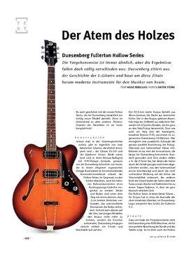 Duesenberg  Fullerton Hollow Series, E-Gitarre