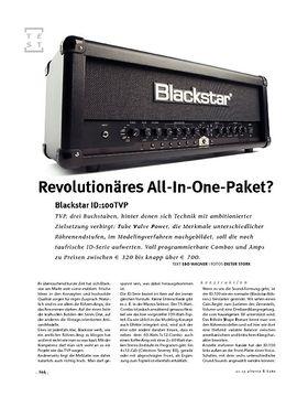Blackstar  ID:100TVP, Modeling-Head