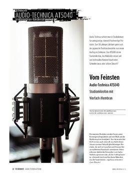 Audio-Technica AT5040 - Studiomikrofon mit Vierfach-Kapsel
