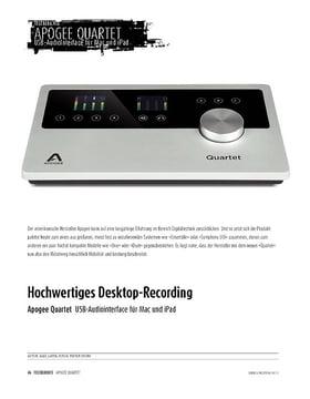 Apogee Quartet - hochwertiges USB-Interface für Mac und iPad