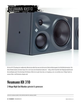 Neumann KH 310 - 3-Wege-High-End-Monitor