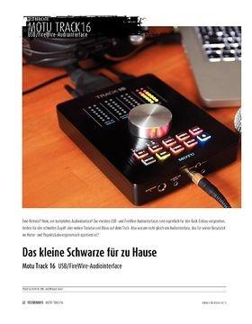 MOTU Track16 - USB/FireWire-Interface