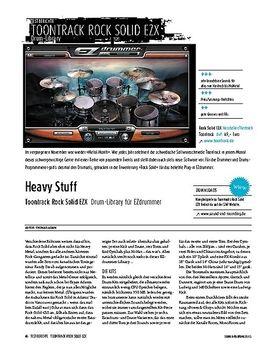 Toontrack Rock Solid EZX - Drum-Library für EZdrummer