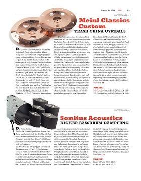 Sonitus Acoustics Kicker Bassdrum Dämpfung