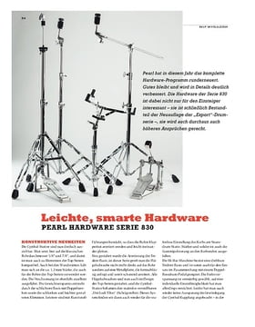 Pearl Hardware Serie 830