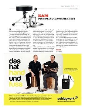 K&M Piccolino Drummersitz