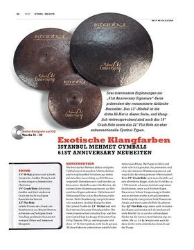 Istanbul Mehmet 61st Anniversary Cymbals