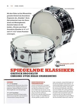 Gretsch Brooklyn Snaredrums