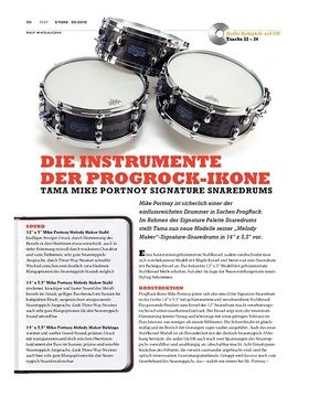 Tama Mike Portnoy Signature Snaredrums