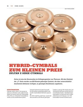 Zultan Z Cymbals