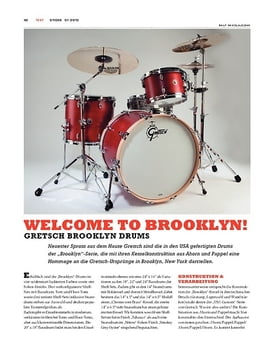 Gretsch Brooklyn Drums