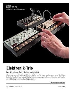 Korg Volca-Serie - Drumcomputer, Bass- und Loop-Synthesizer