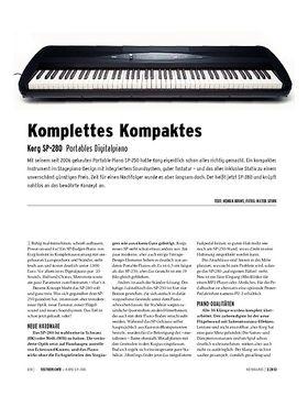Korg SP-280 - Portables Digitalpiano