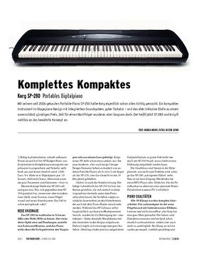Korg SP-280 - Portables Digitalpiano