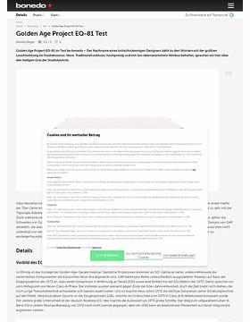 Golden Age Project EQ-81