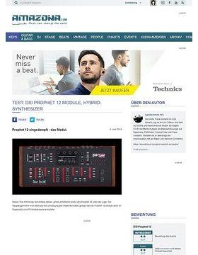 Test: DSI Prophet 12 Module, Hybrid-Synthesizer