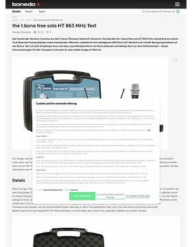 the t.bone free solo HT 863 MHz