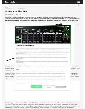Roland Aira TR-8