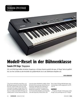 Yamaha CP4 STAGE - Stagepiano