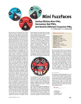 Dunlop FFM 1, 2 & 3, Mini FuzzFaces