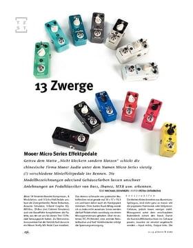 Mooer Micro Series Effektpedale